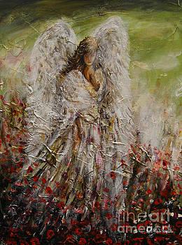 Spring Angel by Dariusz Orszulik
