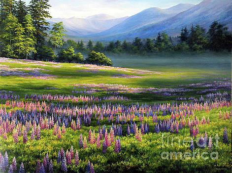 Spring at Crawford Notch by Varvara Harmon