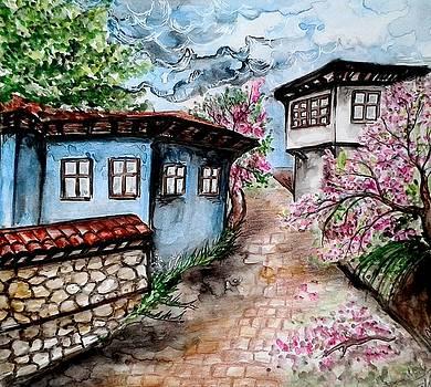 Spring at home by Aleksandra Savova