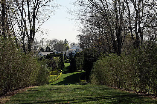 Spring at Ladew Topiary Gardens by Vadim Levin
