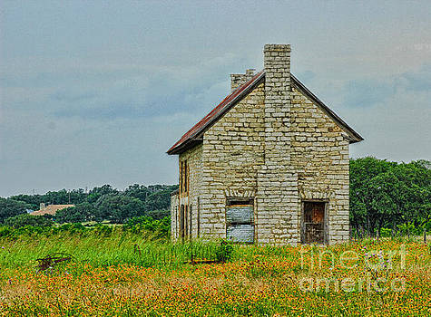 Spring at the Old Homestead Marble Falls  by Toma Caul