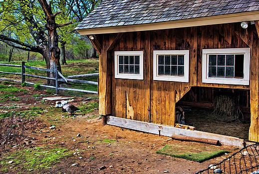 Spring Barnyard by Lee Fortier