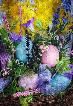 Spring Basket by Michael Moriarty