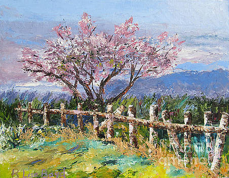 Spring Blossom Pallet Knife Painting by Lisa Boyd