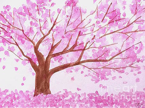 Spring blossoms by Wonju Hulse