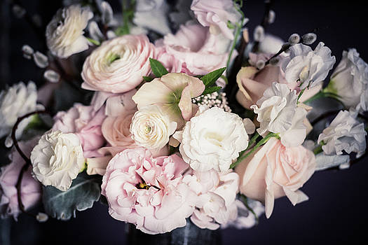 Spring Bouquet in Pastel by Zina Zinchik