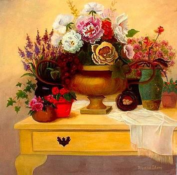 Spring Bouquet by Jeanene Stein