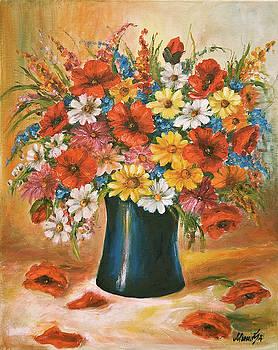 Spring bouquet by Mimoza Oronova