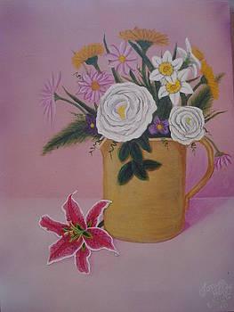 Spring Bouquet by Tonya Hoffe