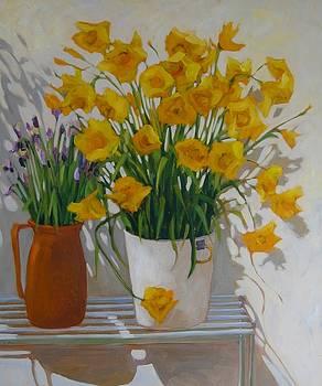 Spring bouquets by Liliane Fournier