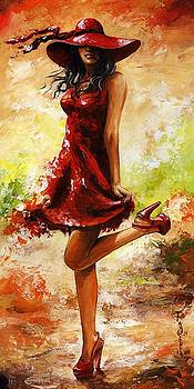 Spring breeze by Emerico Imre Toth