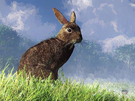 Daniel Eskridge - Spring Bunny