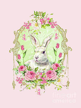 Spring Bunny by Wendy Paula Patterson