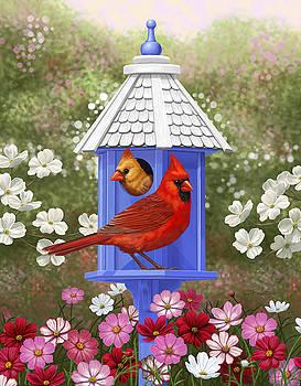 Crista Forest - Spring Cardinals