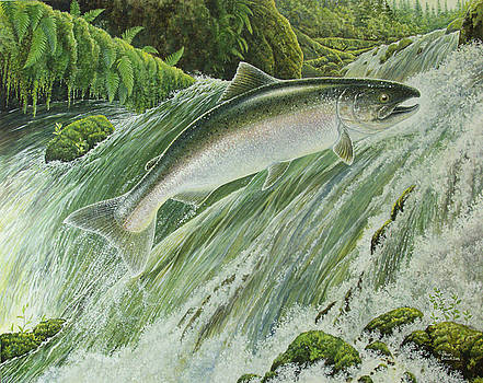 Spring Chinook by Shari Erickson