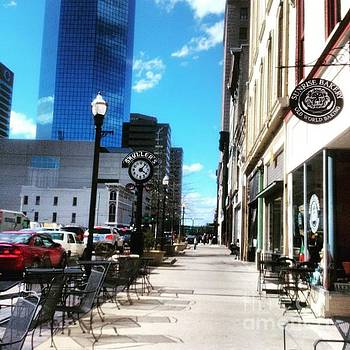 Spring Day In Downtown Lexington, Ky by Rachel Maynard