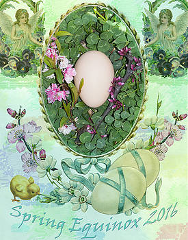 Spring Equinox 2016 by Amy Jo Garner