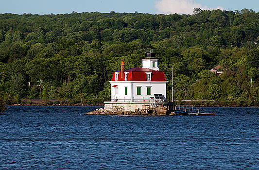 Spring Evening at Esopus Lighthouse by Jeff Severson