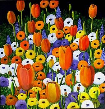 Spring Explosion by Sandra Sengstock-Miller