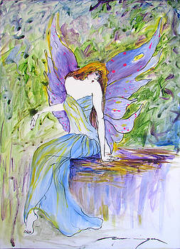 Spring Fairie by Dominique Dubois