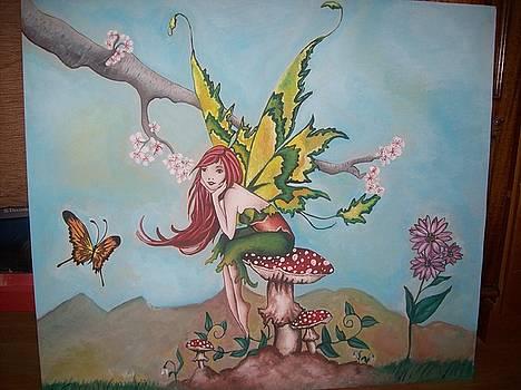 Spring Fairy by Larisa M