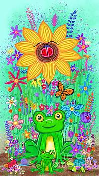 Nick Gustafson - Spring Flowers and Frogs