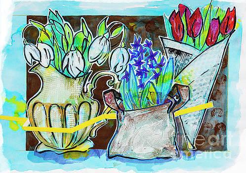 Ariadna De Raadt - spring flowers bouquets