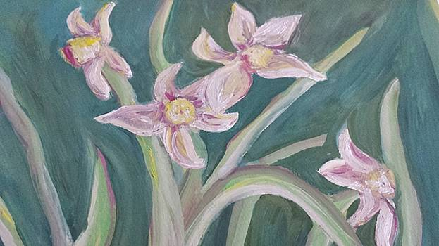 Spring Flowers by Cherie Sexsmith