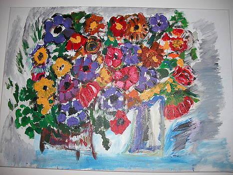 Spring flowers by David Adar
