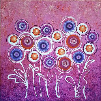 Graciela Bello - Pink New Flowers