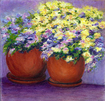Spring Flowers by Paula Emery