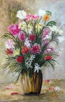Spring Flowers by Renate Voigt