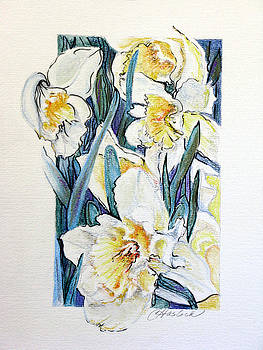 Spring Frills by Carole Haslock