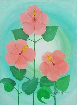 Spring Has Sprung Hibiscus  by Greg Roberson