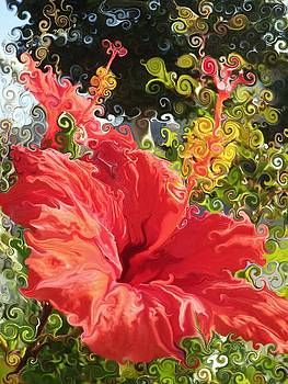 Spring Hibiscus by Daniele Smith