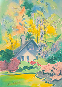 Spring House by John Waddill
