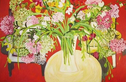 Spring Hydrangea by Amal Hamady