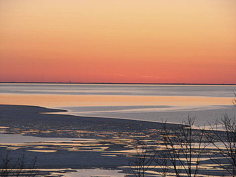 Spring Ice by Rolf Olson