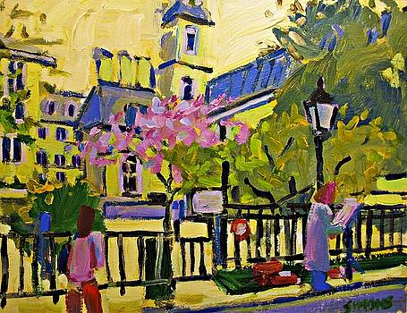 Spring in Paris by Brian Simons