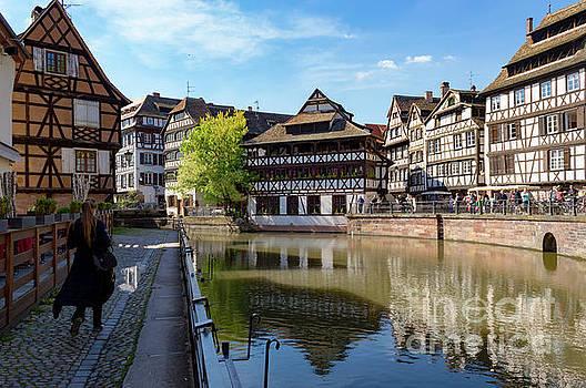 Spring in Petite France, Strasbourg by Sinisa CIGLENECKI