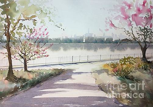 Spring In The City by Yohana Knobloch