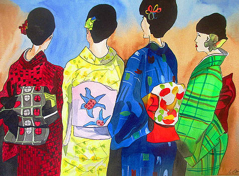 Spring Kimono by Sacha Grossel