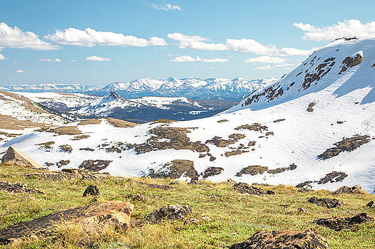 Spring Landscape In The Beartooth Mountains by Dan Sproul