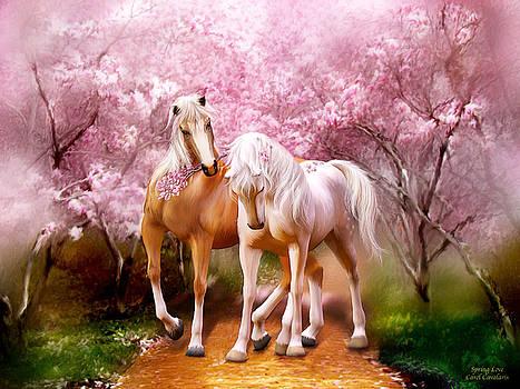 Spring Love by Carol Cavalaris