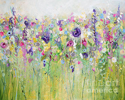 Spring Meadow I by Tracy-Ann Marrison