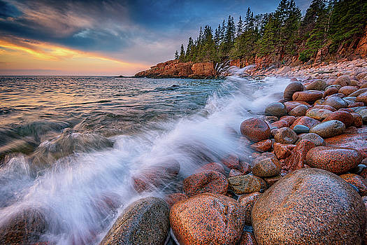 Spring Morning in Acadia National Park by Rick Berk