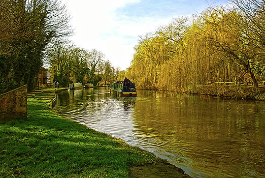 Spring on the Canal by Anne Kotan
