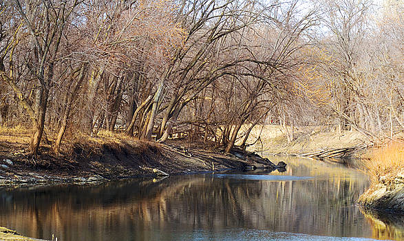 Spring On The Minnesota River by Paul Geilfuss