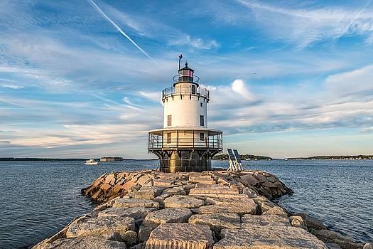 Spring Point Ledge Light by Tim Sullivan