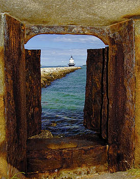 Spring Point Light by Gary Shepard